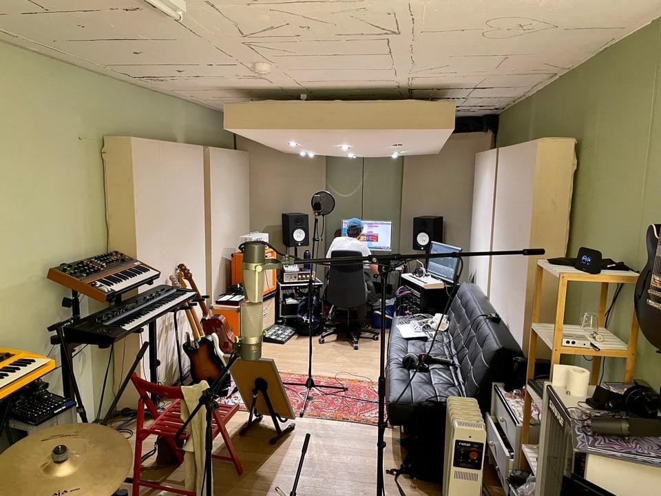 Il «Flat Peak Studio» da Marcus Petendi