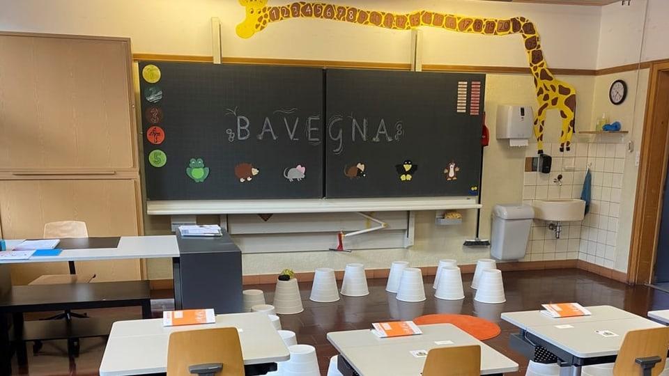 Scola a Savognin fa beinvegni a las scolaras e scolars.