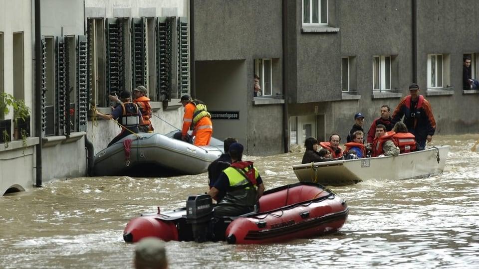 Hochwasserschutz in der Schweiz