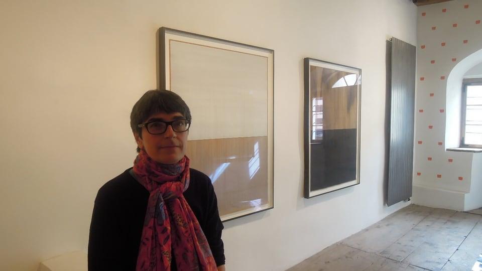 Elsbeth Bisig, Galerie Tschudi, Zuoz.