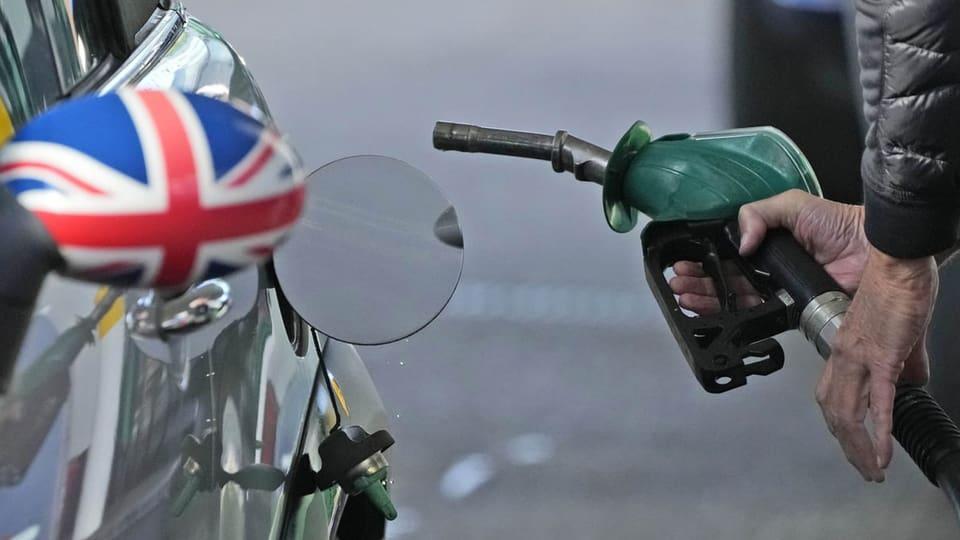 Aus dem Archiv: Britische Tankstellen ohne Treibstoffe