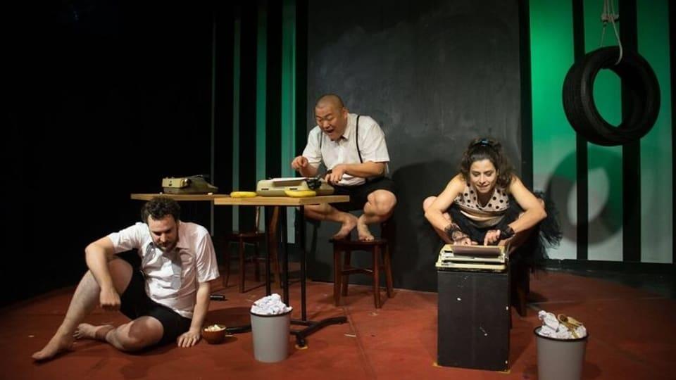 Angela Collenberg en in da ses projects da teater a Taiwan