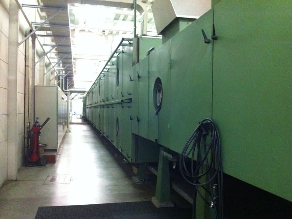 Beschichtungsmaschine von Aussen