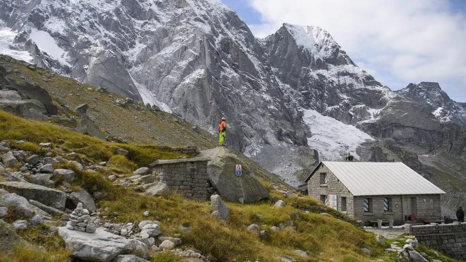 Bergeller SAC-Hütte soll neu erschlossen werden