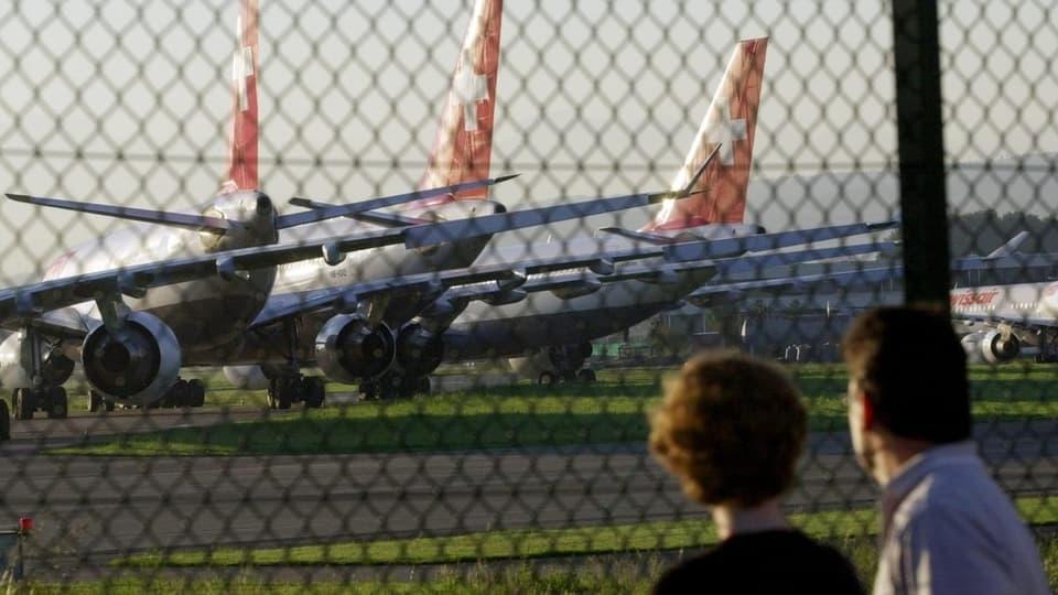 Das Grounding der Swissair