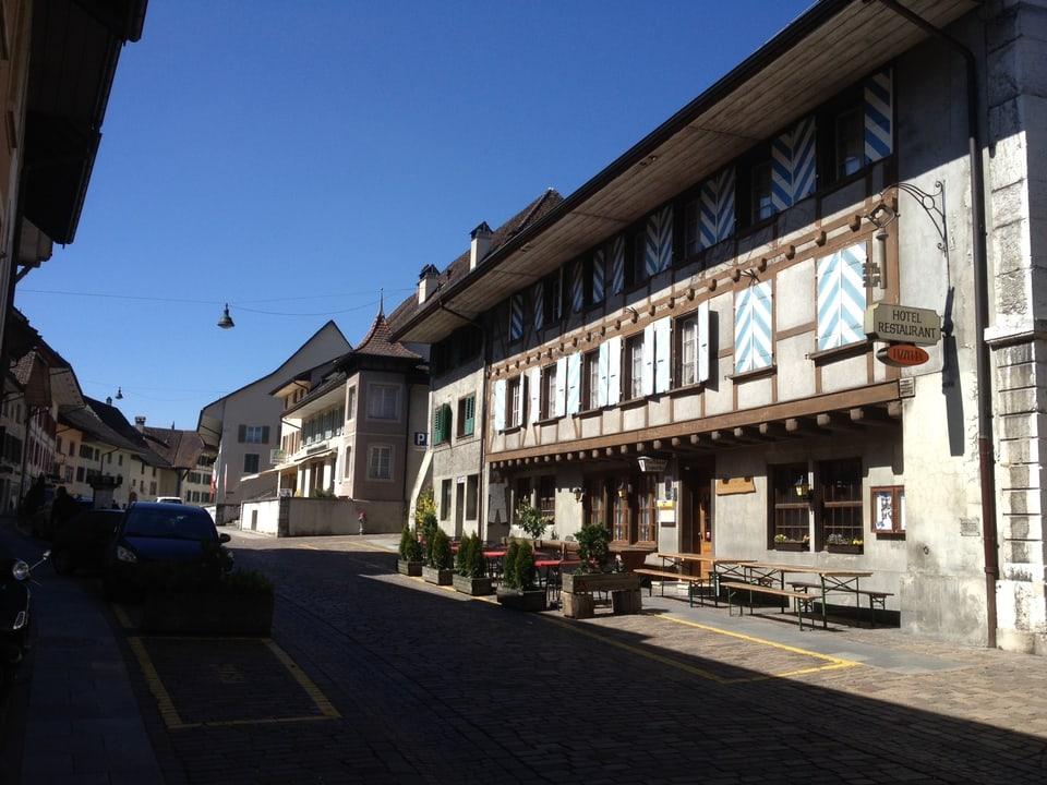 das Gewerbe ist in Wiedlisbach (BE) mehrheitlich weggezogen oder eingegangen.