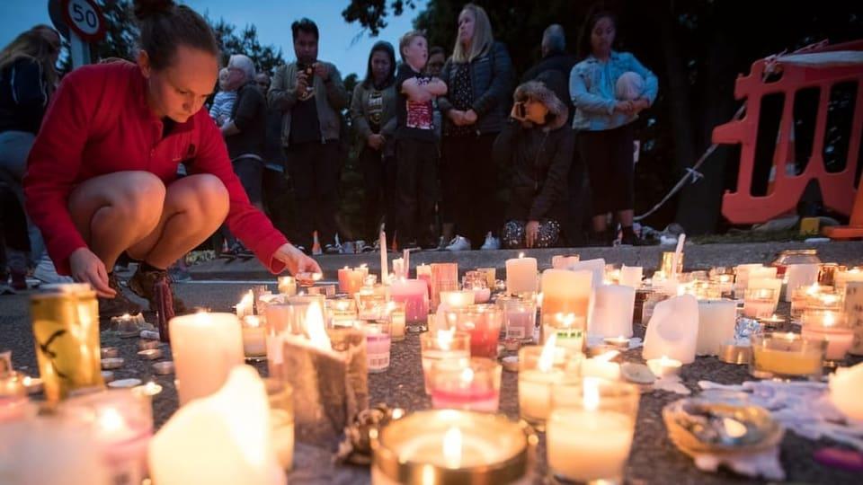 Neuseeland Anschlag Picture: Nach Anschlag Von Christchurch