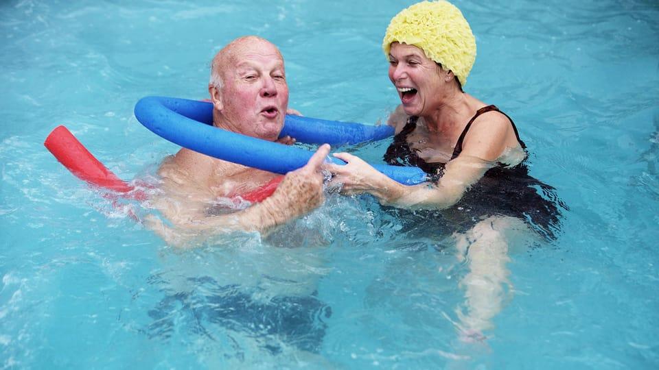 Aquagymnastik ist nicht Aquafit – aber beides ist gesund