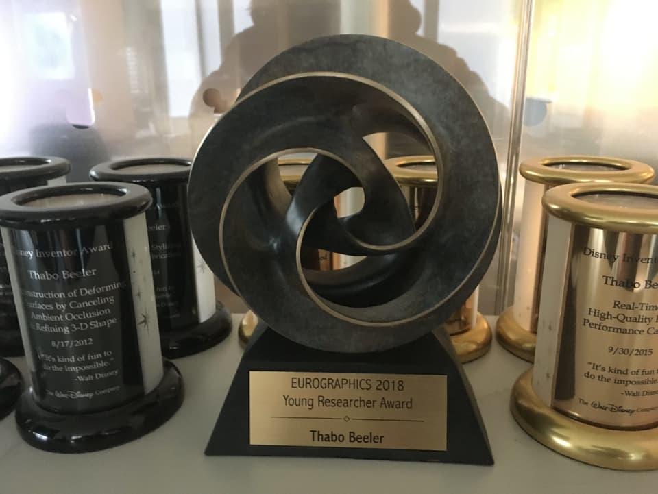 Premi Eurographics 2018.