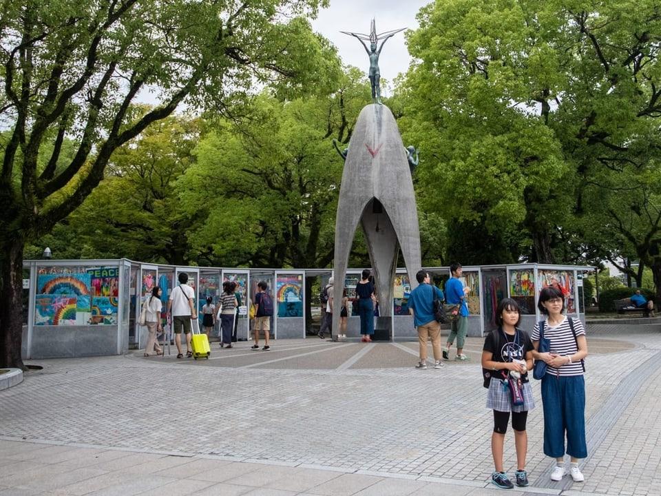 Monument da pasch per ils uffants a Hiroshima
