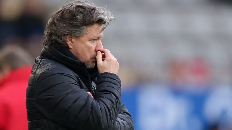 Fussball-News - Arminia Bielefeld trennt sich von Saibene