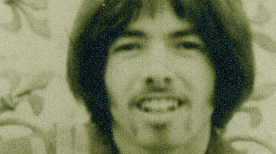 Jonny 1970 mit Bärtchen.