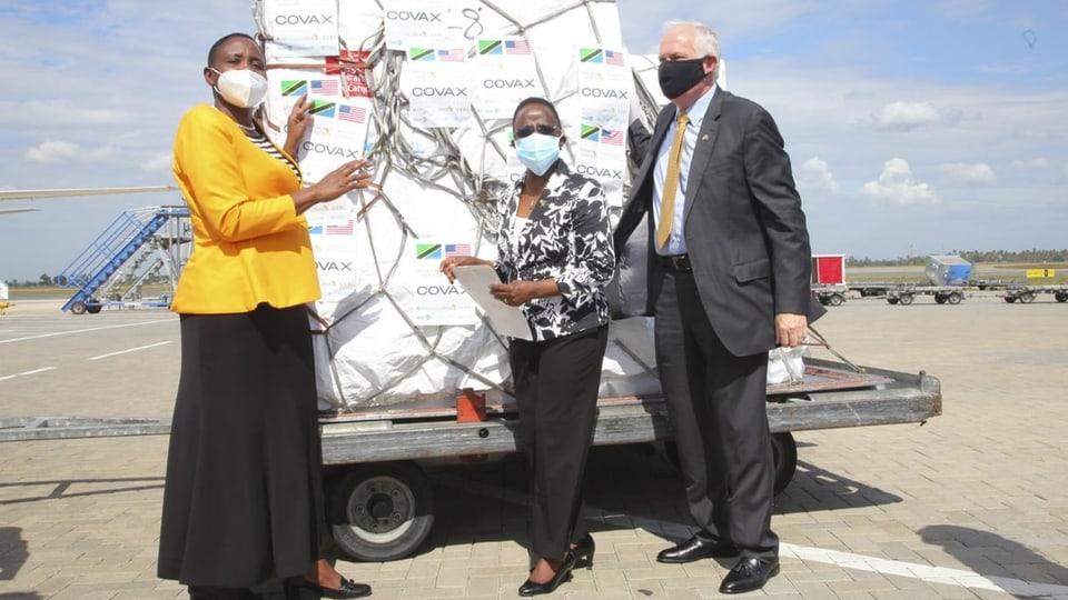 Tansania hat eine Million Impfdosen erhalten