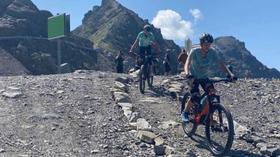 Damain conflicts tranter ciclists e viandants