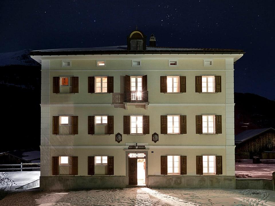La «Villa Carisch» a Riom.