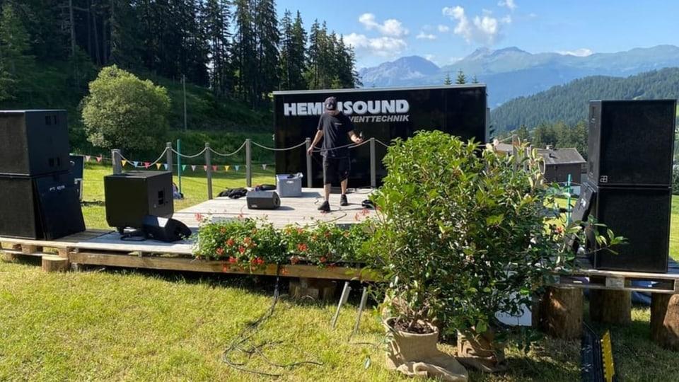 La visiun dal festival da musica Secret Garden
