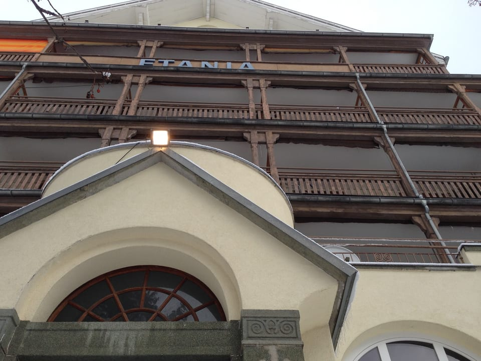 Fassade Etania.