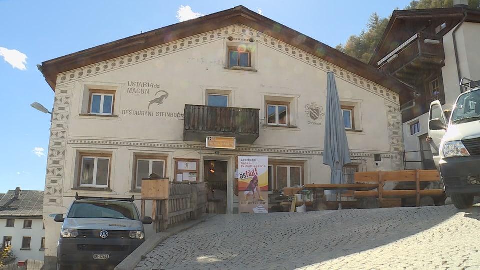 Hotel Macun a Tschlin.