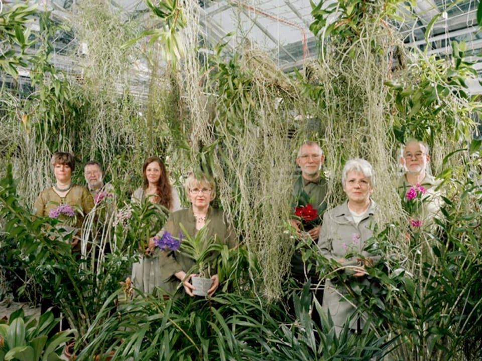 Bild des Orchideenclubs.