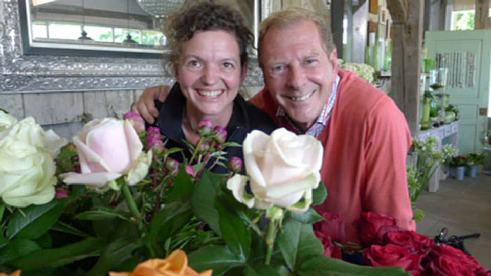 Monika Linder und Kurt Aeschbacher.