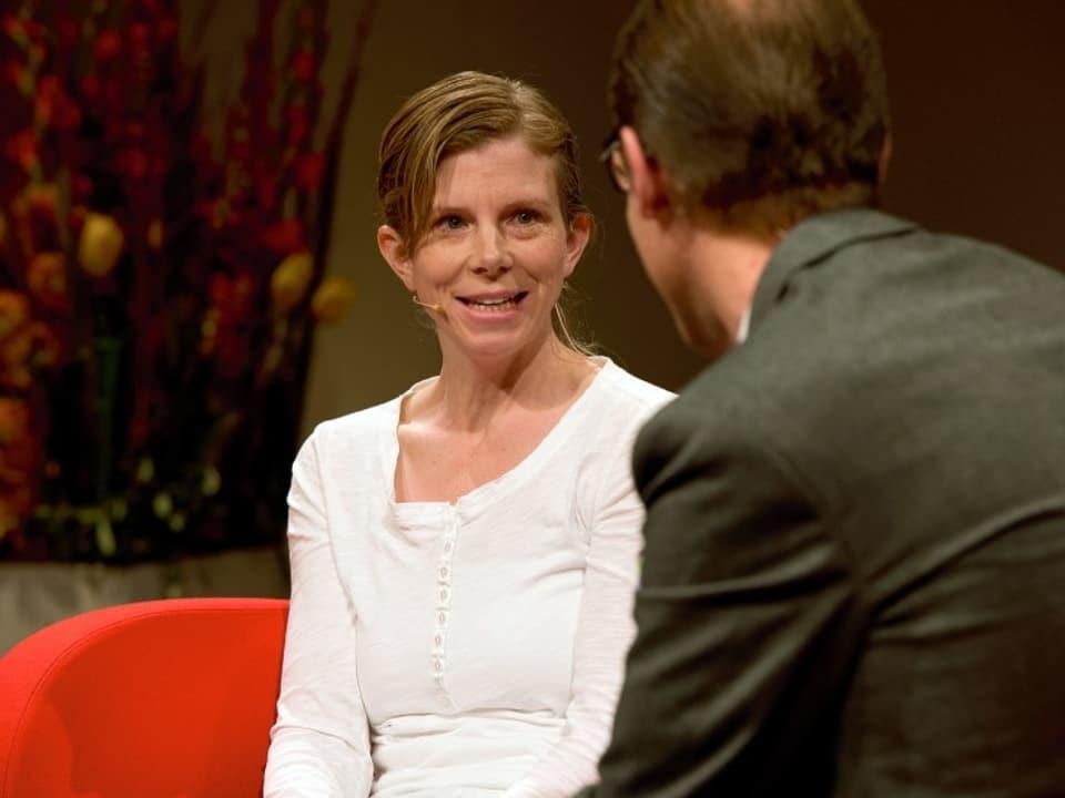 Kerstin Birkeland im Interview mit Christian Zeugin.