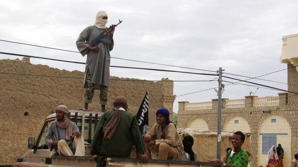 Ansar Dine eroberte 2012 Timbuktu (Archivbild)-