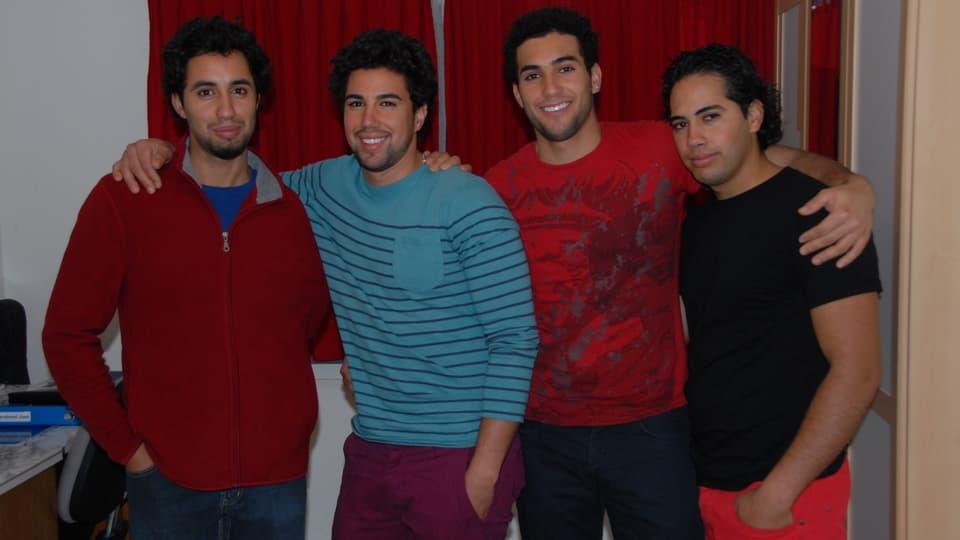 Die vier Brüder.