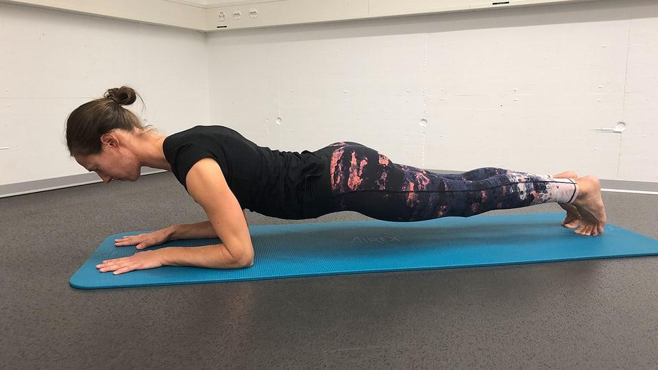 Plank: Vereinfachung nach vorne schieben