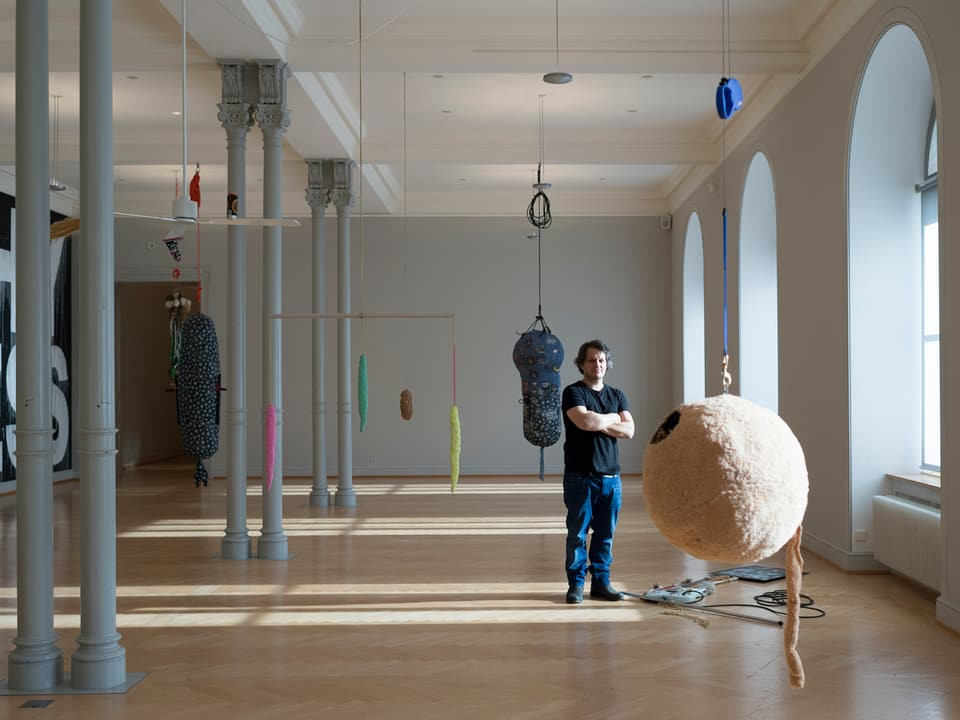 Beni Bischof: Einzelausstellung, Kunstmuseum St. Gallen, 2015
