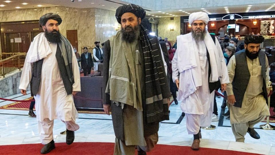 Die Taliban ernennen eine neue Übergangsregierung