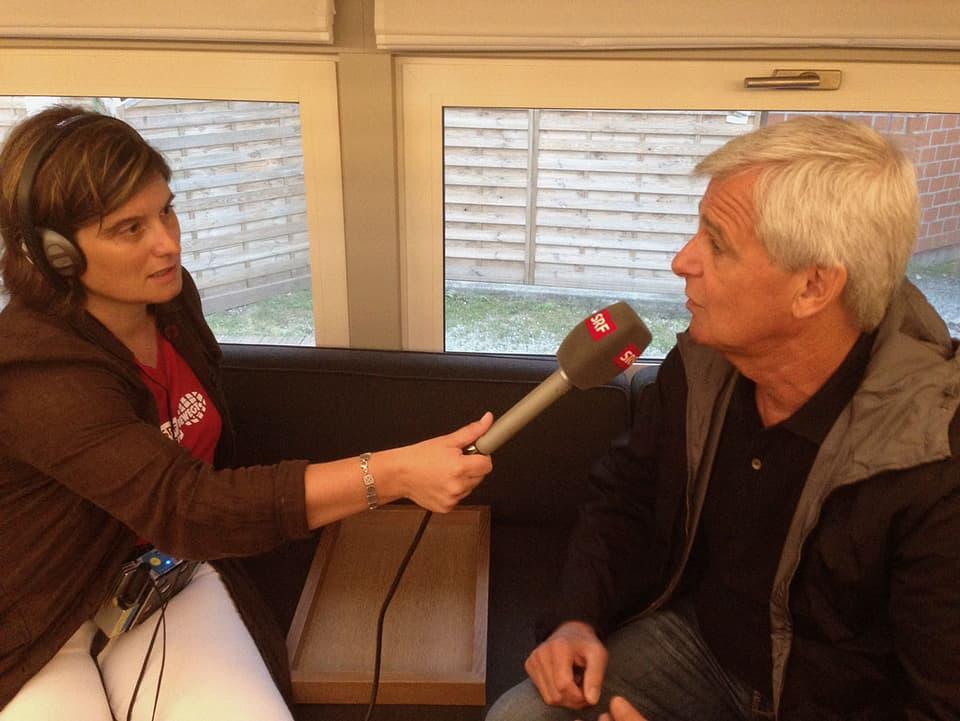 Riccarda Trepp und Franco Knie im Interview.