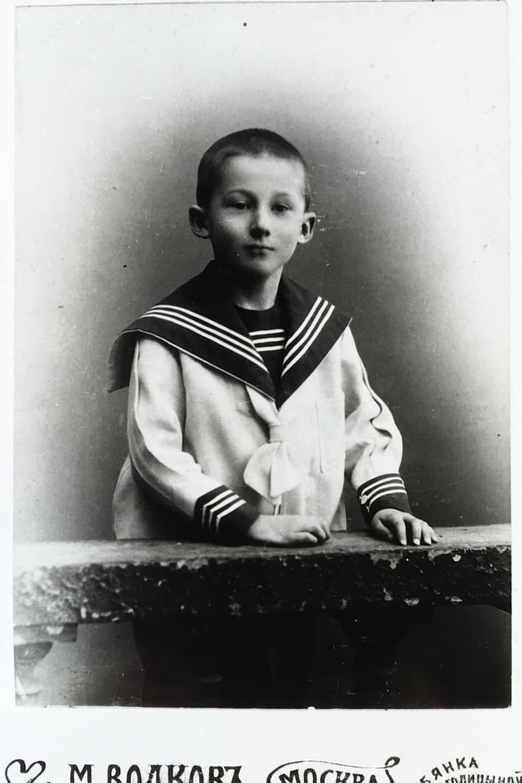 Karl Friedrich Risch (1901-1994) - sia famiglia possedeva ina fabrica da taila en Russia