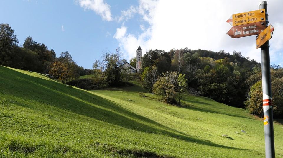 Tavla da viandar: Sentiero Nara e Bareta.