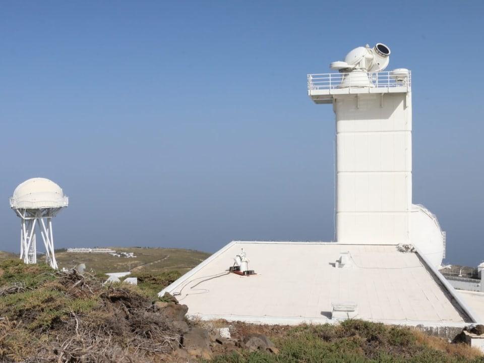 Forschungssternwarte in La Palma