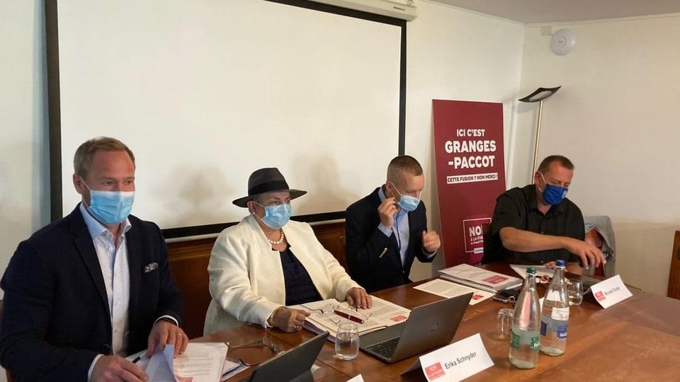 Sie wollen nicht, dass Granges-Paccot mit Freiburg fusioniert