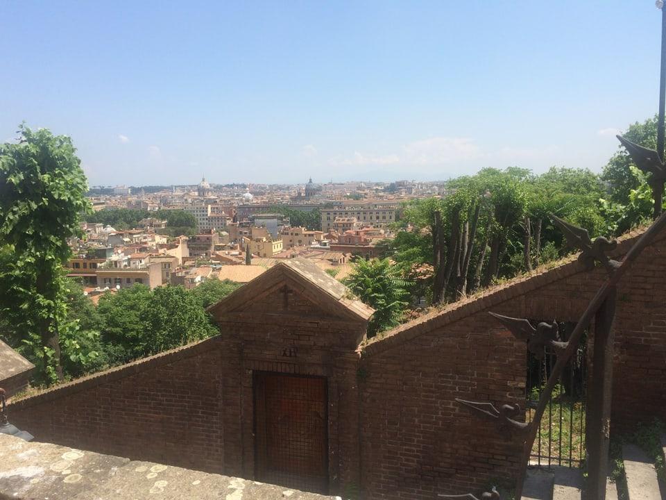Magnifica survista sin Roma – Gianicolo, ina da las collinas da Roma.
