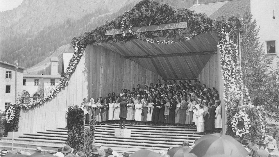 1920 a Zernez, dirigent: Robert Cantieni.