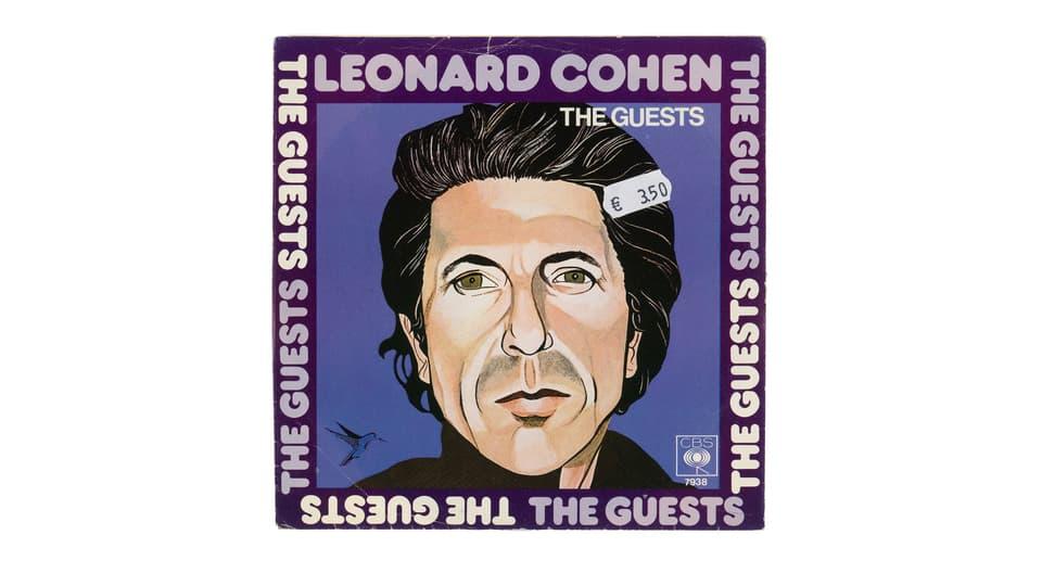 Cover LP Leonard Cohen.