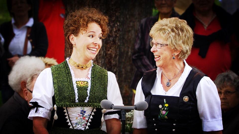 Nadja Räss und Marie-Theres von Gunten.