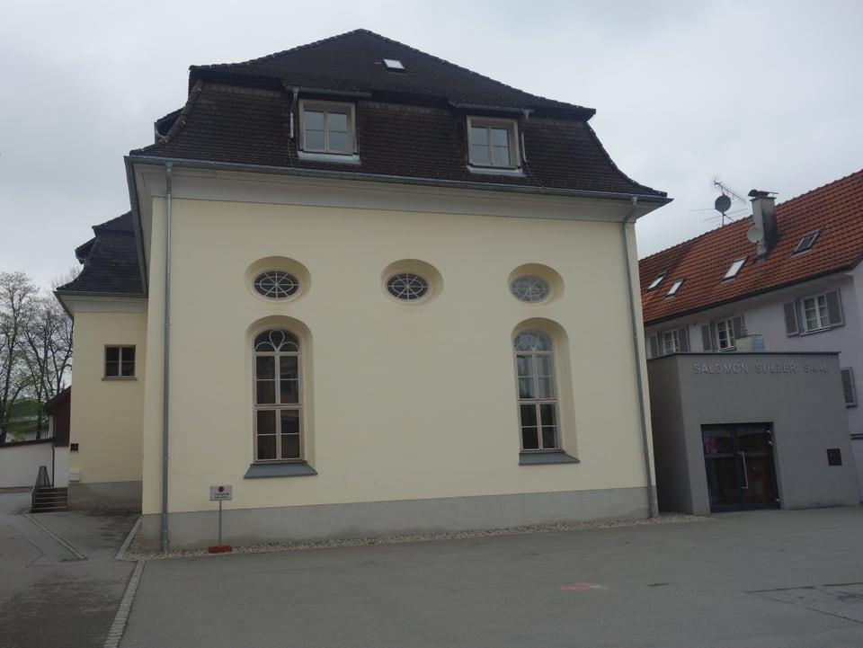 L'anteriura sinagoga da Hohenems.