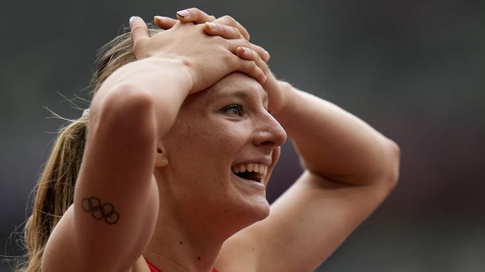 Ajla Del Ponte cun nov record svizzer sur 100 meters