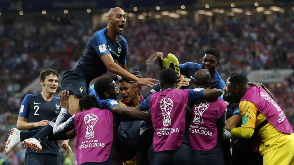 Viel Diskussionsstoff Beim 4 2 Nach 20 Jahren Frankreich