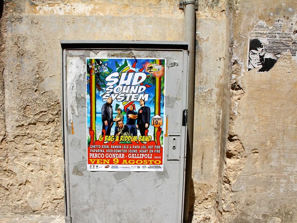 Sud Sound System - die Lokalmatadoren garantieren im Süden Italiens ein volles Haus.