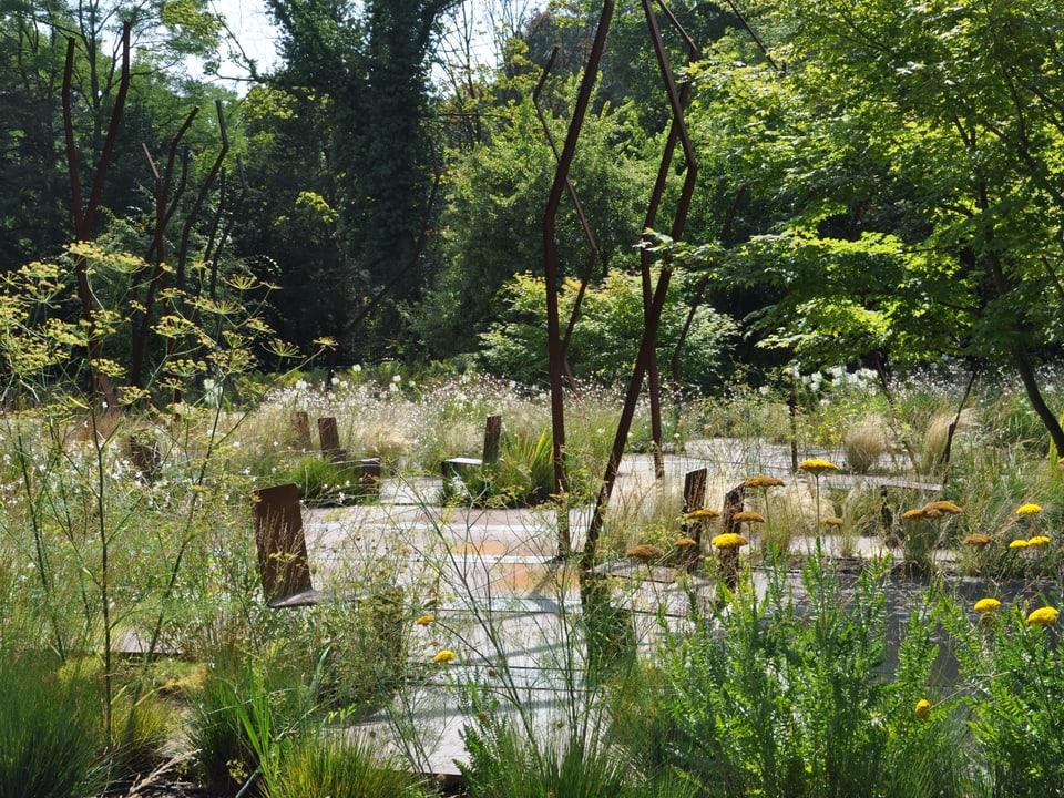 Garten in Amandolier (GE).