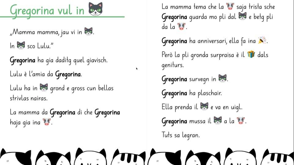 Gregorina vul in giat.