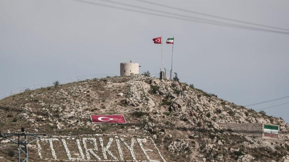 Die Grenze zwischen Iran und der Türkei verläuft durchs Gebirge