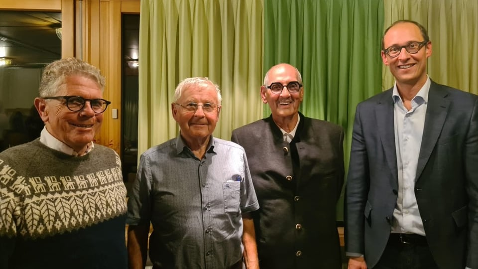 Ils presidents da la Pro Lucmagn