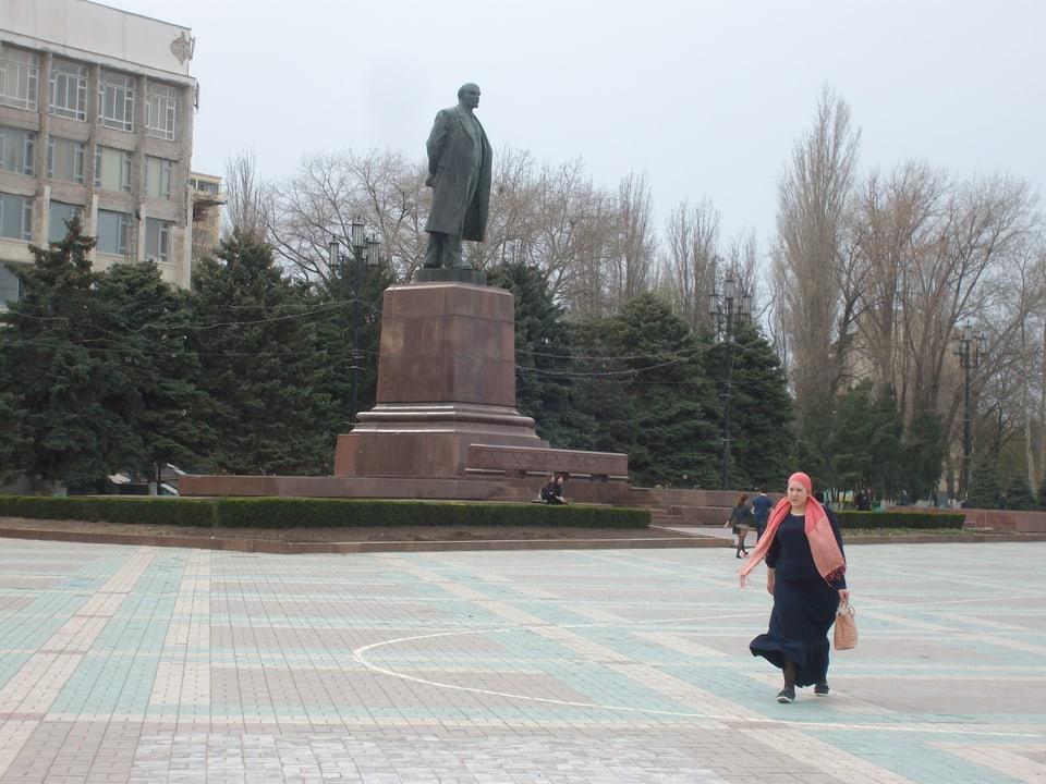 Lenindenkmal in Machatschkala