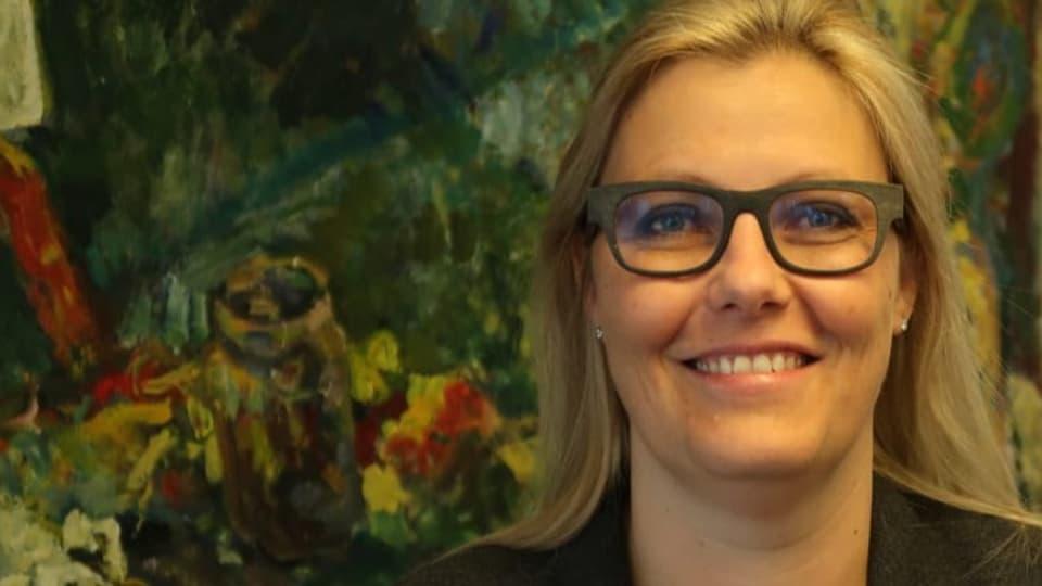 Susanne Thellung: «Es war für Schwyz vielleicht eine Überraschung, dass ich gewählt wurde.»