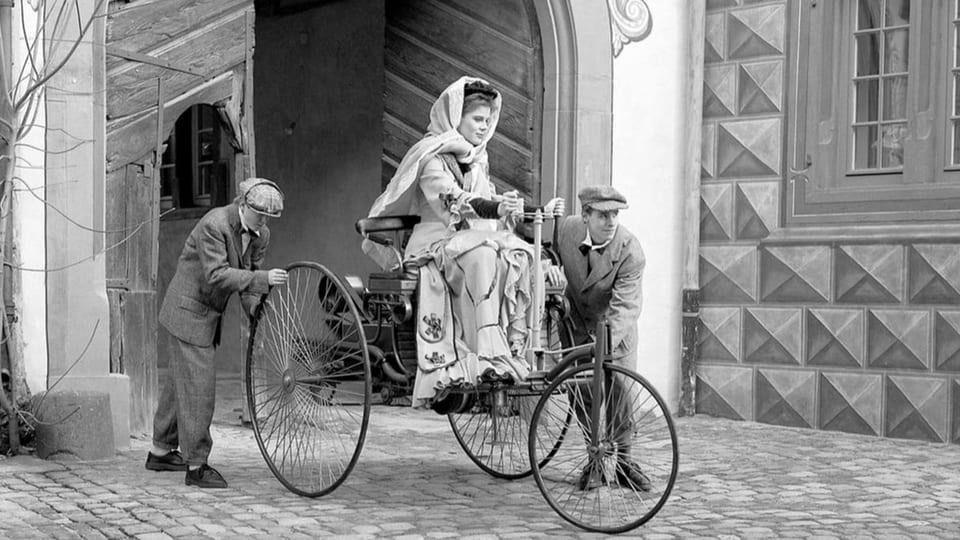 Heute vor 133 Jahren: Erste Autofernfahrt